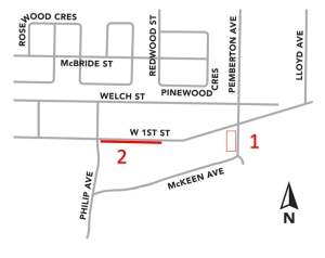 Upcoming Work on West 1st Street