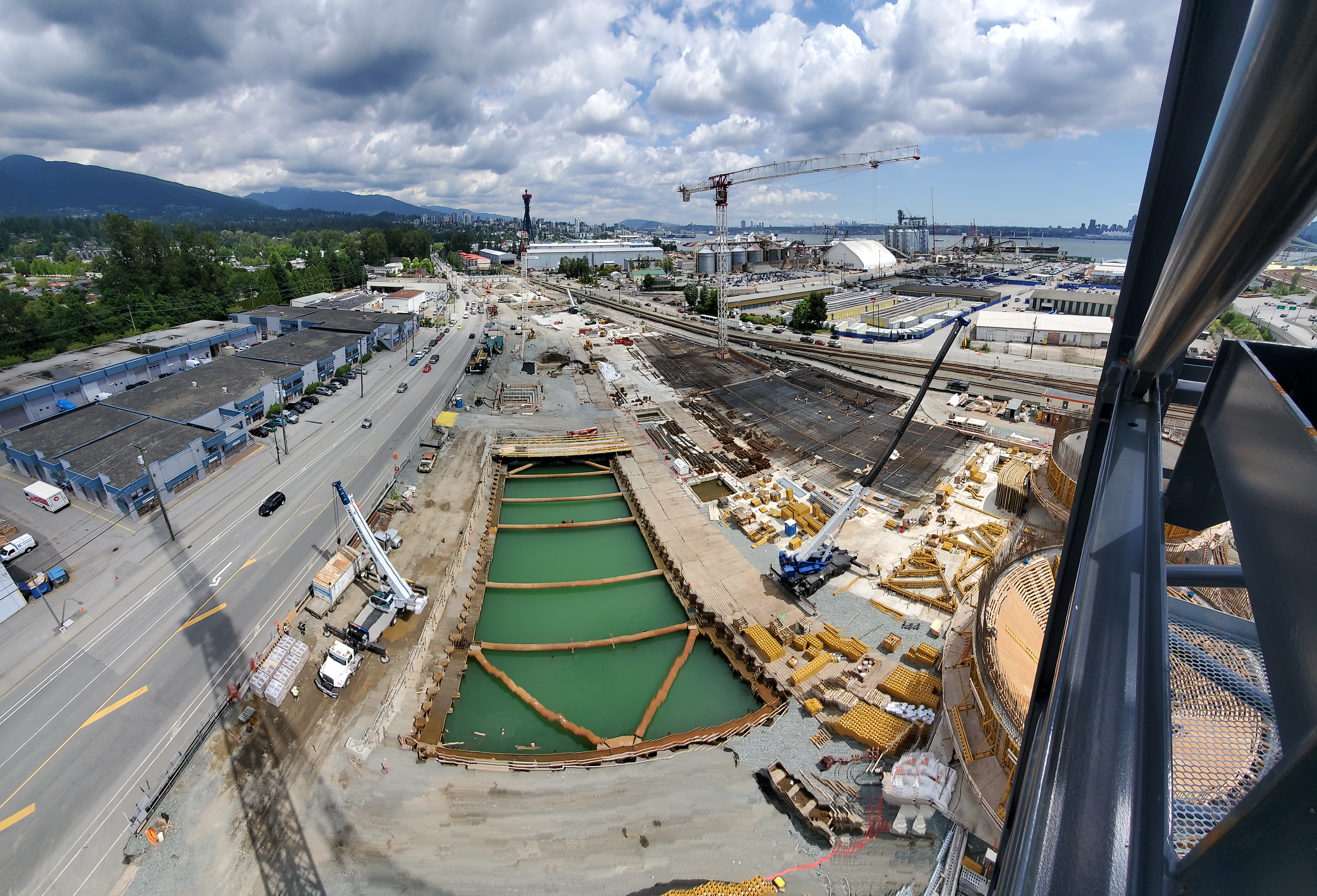 Spring 2020 NSWWTP Construction view