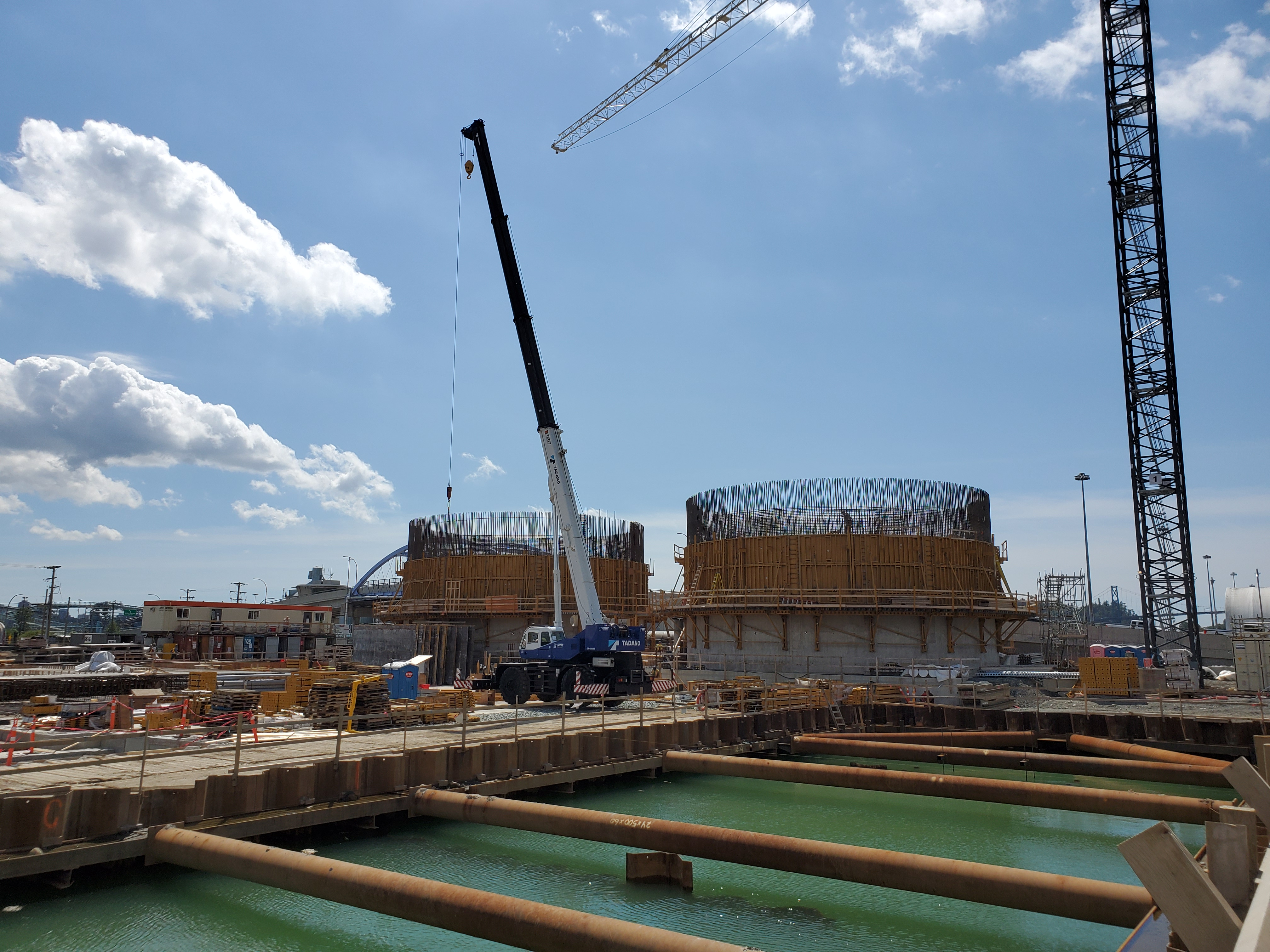 Spring 2020 - NSWWTP construction