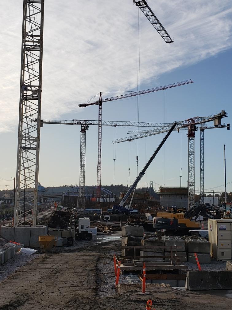 Fall 2020 Tower Cranes